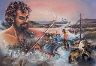 bror-eric målning av Thore Härdelin
