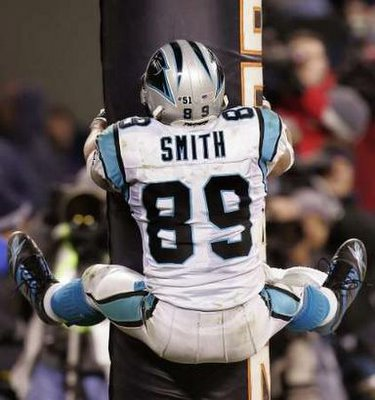 Steve Smith stripper pole touchdown celebration