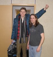 Joel Plaskett and Jason Saulnier