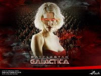 Fleeing from the Cylon Tyranny, the last Battlestar, Galactica, leads a rag-tag fugitive fleet on a lonely quest. A shining planet, known as Earth