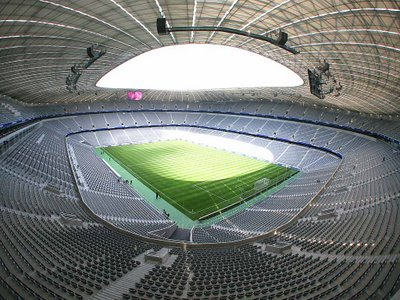 Eaglais an Sacair - Allianz Arena, Mnchen, an Gharmain