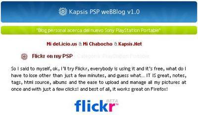 Kapsis PSP