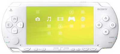 PSP blanca