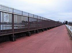 Sagamihara Chosuichi Dam - Southern Fence Line