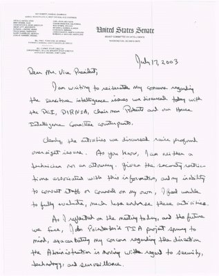 Letter Page 1