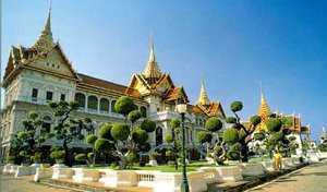 Grand Palace Complex Bangkok Thailand