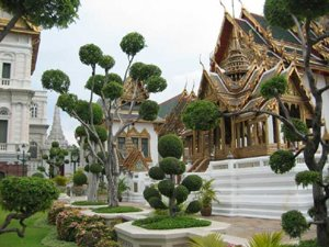Grand Palace Complex Bangkok Thailand - Architecture