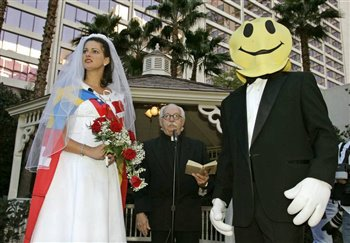 Las Vegas Mock Wedding The Corpus Callosum Maiden Overseas