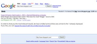 Search Engine Optimisation and google pluto update
