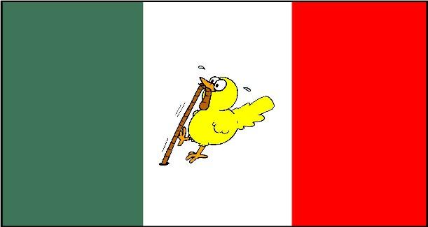 Daniels Political Musings The Real Mexican Flag