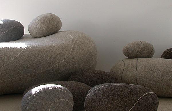 Build It Green Living Stones Felt Furniture
