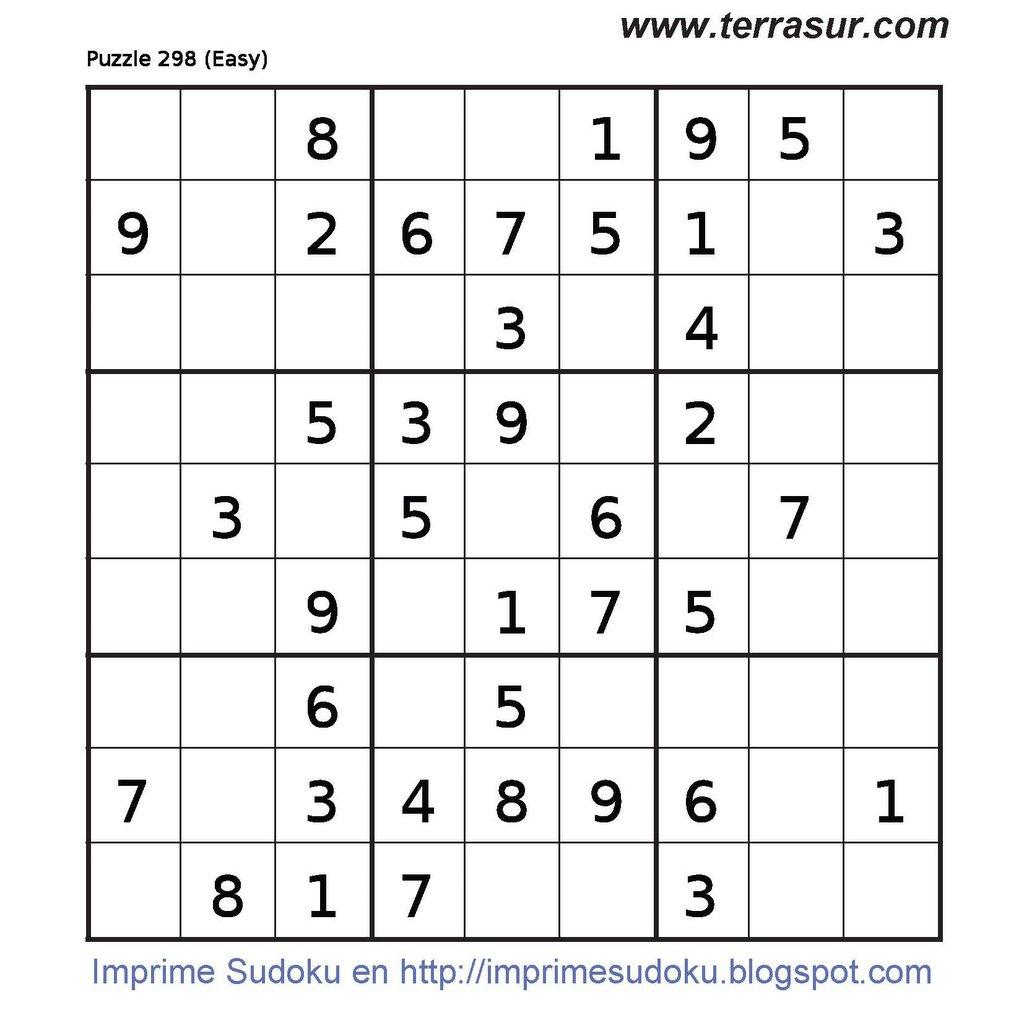 6 to a Page Sudoku