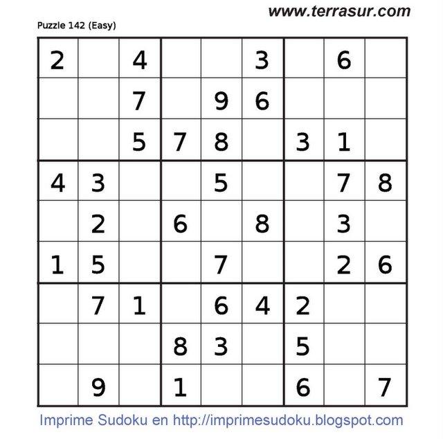 Imprimir Sudoku