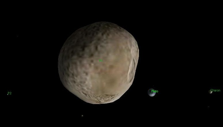 moons around pluto - photo #24