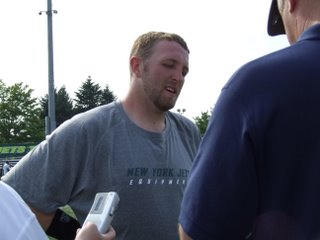 Interview with Jets Rookie QB Kellen Clemens