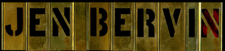 JEN BERVIN WEBSITE