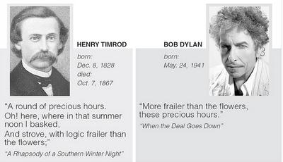 Henry Timrod Bob Dylan