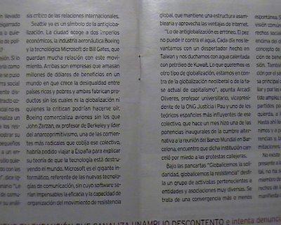 Escaneado del magazine de La Razón