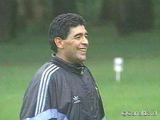 Imágenes del Diego  - 100 Fotos de Maradona