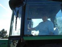 inde en stop Eduardo Marinho Sylvain Andre hitchhiking tracteur