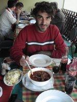 inde en stop Eduardo Marinho Sylvain Andre hitchhiking Goulache