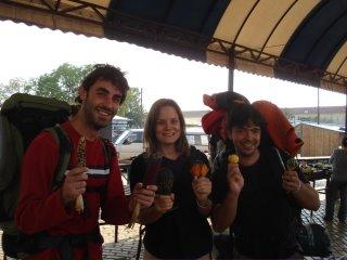 inde en stop Eduardo Marinho Sylvain Andre hitchhiking Szeged potiron bızarre