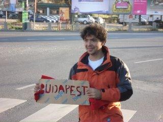 inde en stop Eduardo Marinho Sylvain Andre hitchhiking Budapest