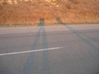 inde en stop Eduardo Marinho Sylvain Andre hitchhiking ombre sombra shadow