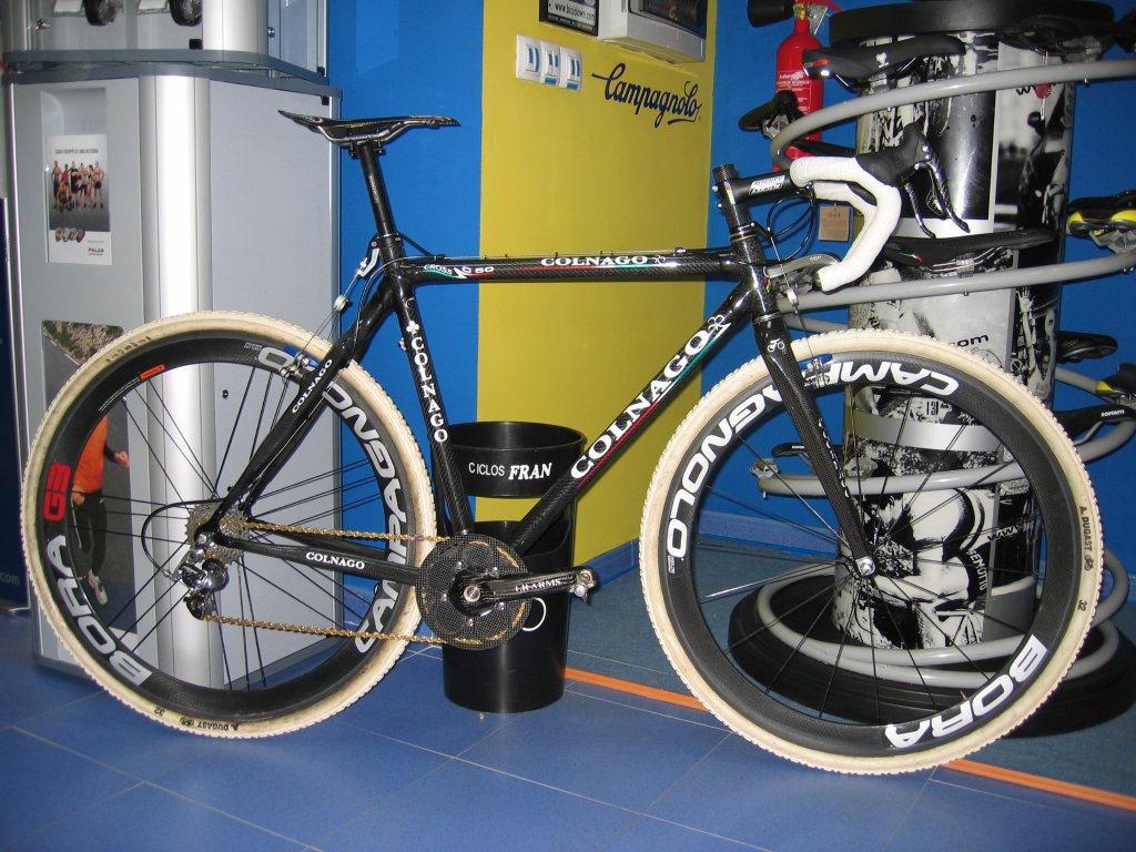 Plus One Lap: Lightweight Cyclocross Bike #9: Marco\'s Colnago C50 is ...