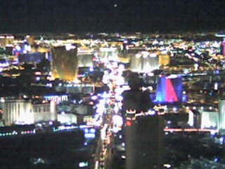 The Strip from the Stratosphere