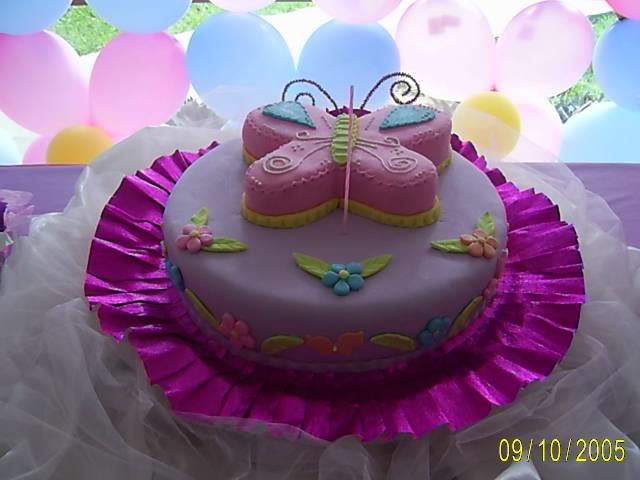 Ponquetas..:: El mejor Ponqué: Torta Mariposa