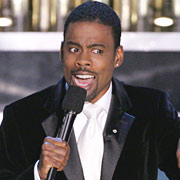 Chris Rock not hosting 2006 Academy Awards -  apparently pissed off Jude Law