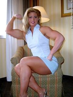 Jody May reveals her bodybuilding schedule for 2006