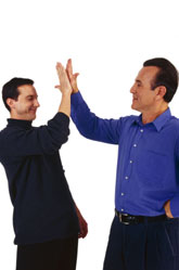 Today's National High Five Day! - Give It Up!