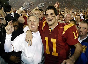 USC's Matt Leinart Selects Sports Agent Leigh Steinberg