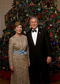 """President Bush' Holiday Cards Rile Conservatives- Only Say """"Happy Holidays"""" - Wash Post"""