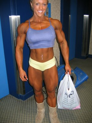 Cindy Phillips In Top Shape