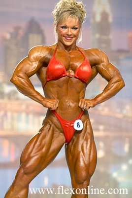 Lisa Aukland, Female Bodybuilder, On Inside Edition - Video