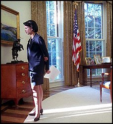 Condi Rice: Such A Silly Girl; A Plan Regarding Terrorism Was Made By Clinton