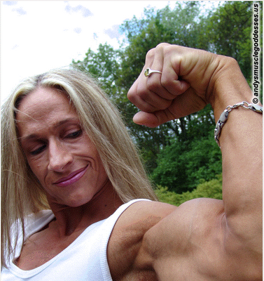 Mary Lynne Mackenzie - Double Biceps Pose Video