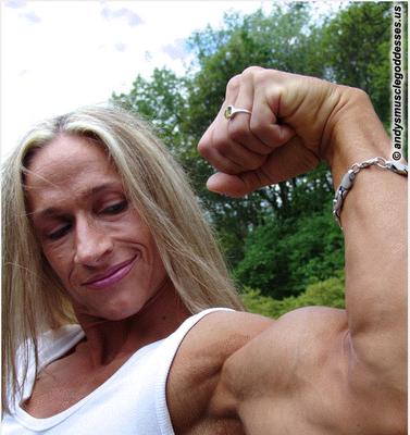 Mary Lynne Mackenzie - Double Biceps Pose Video