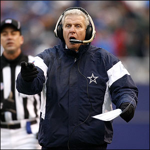 Dallas Cowboys Coach Bill Parcells - Has He Lost His Winning Style?