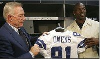 Cowboys Owner Jerry Jones Angry With Leak On T.O.'s Fine