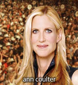"Ann Coulter Says Bill Clinton Is Gay On ""The Big Idea"" - David Letterman Fires Back"