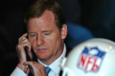 With Roger Goodell, NFL Returns To Its Sports Marketing Focus