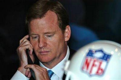 NFL COMMISSIONER ROGER GOODELL On CBS NFL Pregame Show