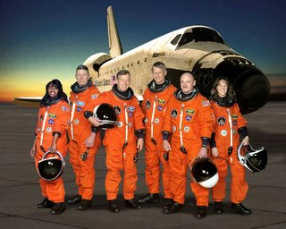 STS-121 crew, from www.nasa.gov