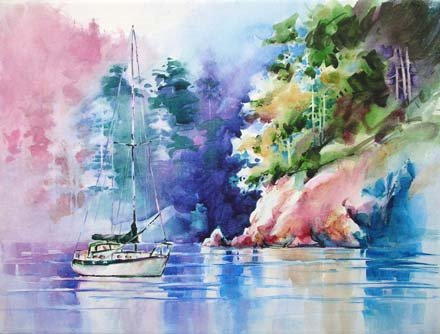 Painting plan b an art blog by michael david sorensen for My first watercolor painting