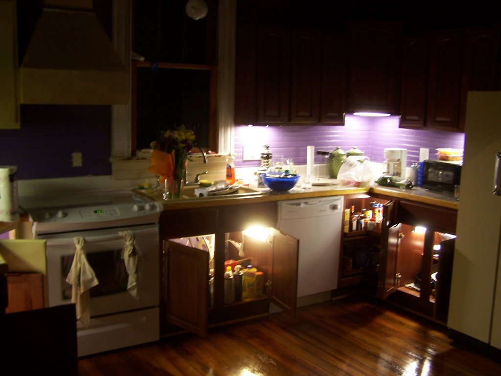 The devil queen cabinet lighting for Kitchen queen cabinet