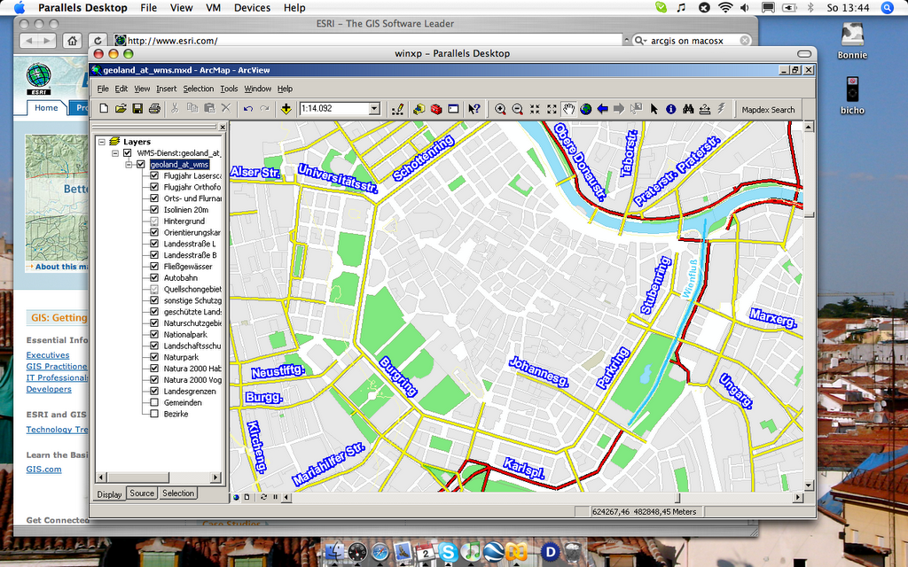 Find out more about our GIS & mapping software. . ESRI Academic Site..